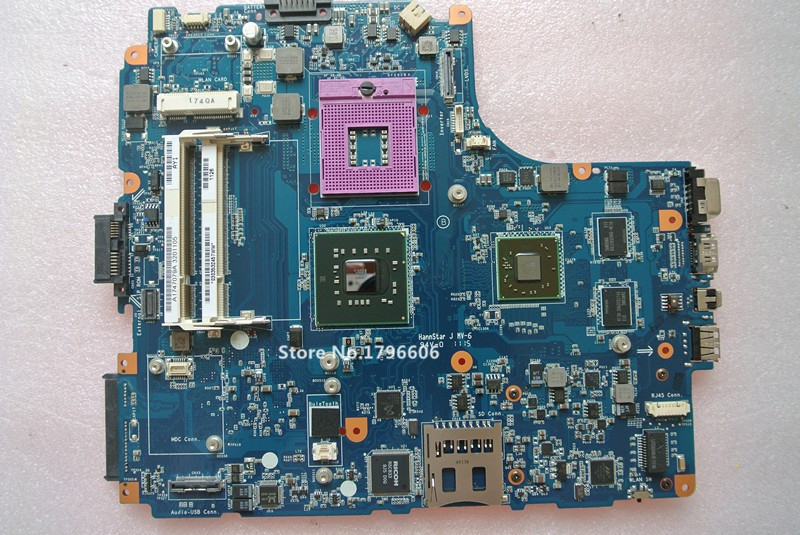 ФОТО Working Excellent For Sony vaio VGN-NW Laptop Motherboard M851 main board MBX-217 Rev 1.0 A1747079A