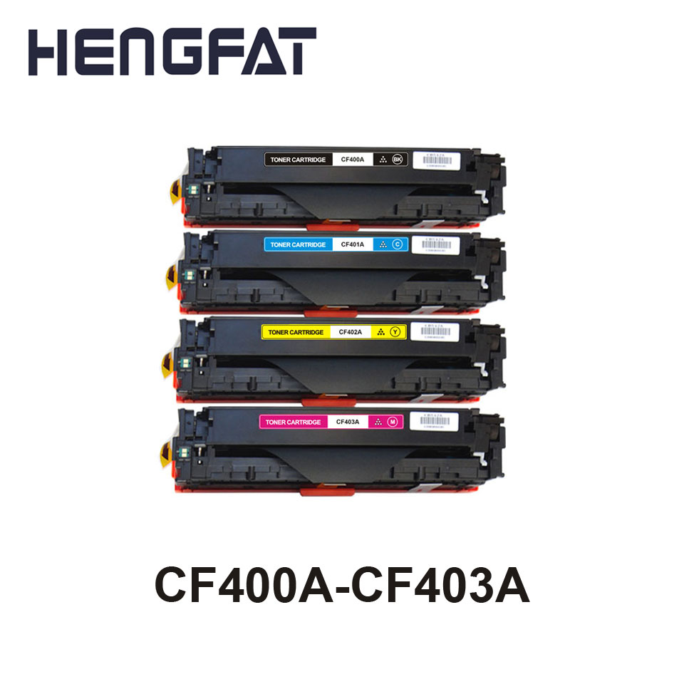 2PCS for hp 201A CF400A 400a CF401A 401a CF402A 402a CF403A 403a Compatible toner cartridge for HP LASEJET M252dw/M277n/277dw картридж для принтера и мфу hp 201a cf403a magenta