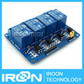 5V 4 Channel Relay Module for Arduino ARM PIC AVR DSP