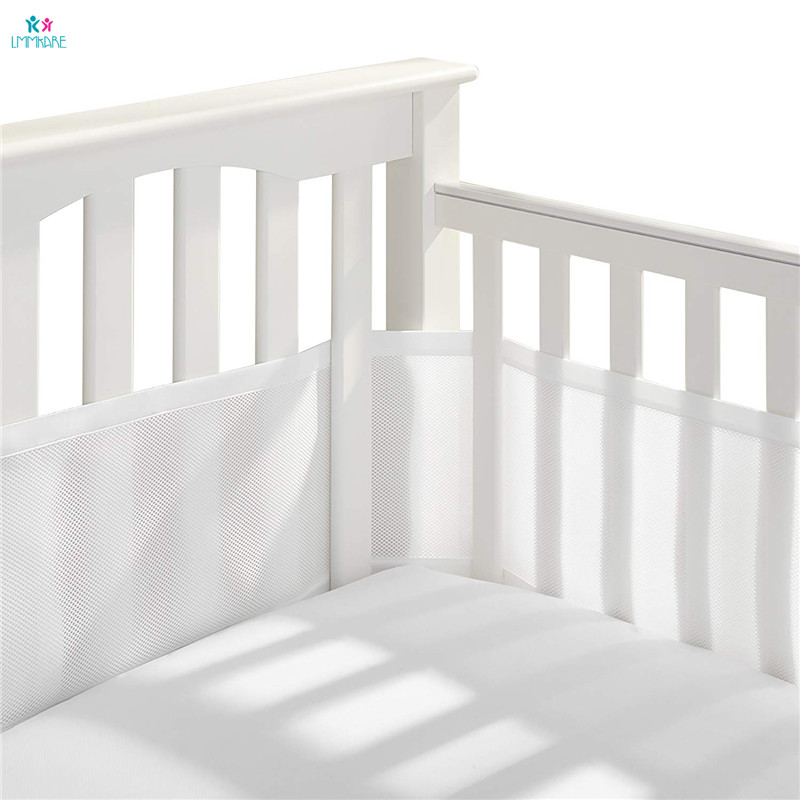 Baby Bedding Knitted Baby Bumper Bedding Sets Collision Proof Newborn Crib Bumpers Soft Breathable Cot Bed Sheet Pillow Quilt Unisex Goods Of Every Description Are Available Cotton