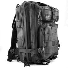 30L Tactical Outdoor Military Rucksacks Backpack Camping Hiking Trekking Bag Black