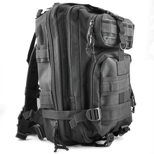 30L Tactical Outdoor Military Rucksacks Backpack Camping Hiking Trekking Bag – Black