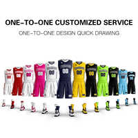 Wholesale New Men's Youth basketball uniforms Set custom your basketball team logo jersey