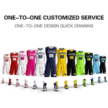 Wholesale New Mens Youth basketball uniforms Set custom your team logo jersey