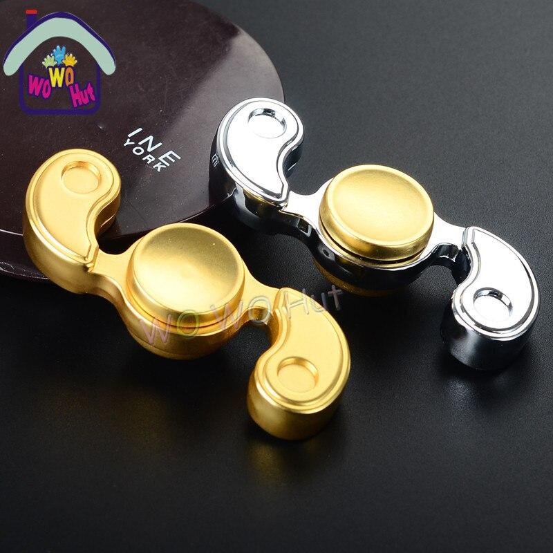 Hand Spinner Fidget Creative aluminu Tri Spinner Stress Triangle Fingertips Gyro Austim Toys Hand Finger Spinner