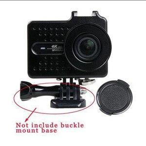 Image 4 - Cho Xiaomi Yi 4 k Phụ Kiện Nhôm Hợp Kim Kim Loại Nhà Ở Khung Trường Hợp Bảo Vệ + UV filter cho Xiao Yi 4 k action máy ảnh