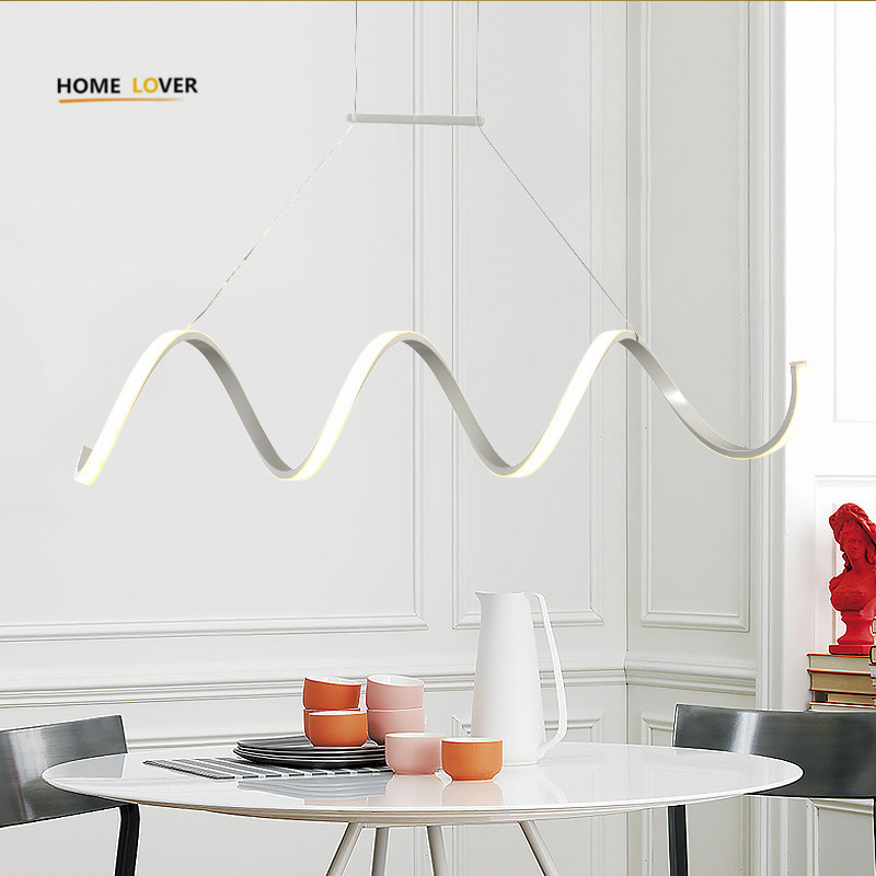 Modern Pendant lights for dining room Kitchen indoor lighting Lustre De Cristal Lighting fixtures lamparas modernas