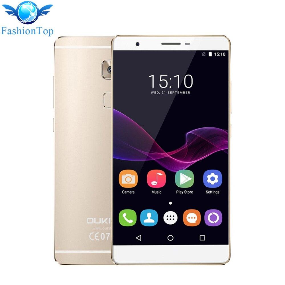 Original Oukitel U13 5 5 Smartphone Android 6 0 MTK6753 Octa Core 1 3GHz 4G Mobile