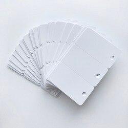 Impresión por impresoras Epson o Canon, inyección de tinta blanca en blanco, tarjeta de pvc imprimible 3up para suscripción de etiquetas clave club TARJETA DE pvc 200X/lote
