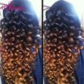 Высокое качество GEM бразильский виргинский распущенными волосами волна VIP красоты ломбер свободная скручиваемость 1b 30 100% человеческих волос роза волос мягкий и полный