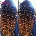 Top Quality GEM Brazilian Virgin Hair Loose Wave VIP Beauty Ombre Loose Curl 1b 30 100% Human Hair Rosa Hair Soft & Full