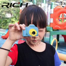 1.77 Polegada Full Color Mini Câmera LSR Digital Crianças Bebê Bonito Dos Desenhos Animados Camcorder Video Recorder Suporte Tf