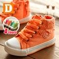 Sapatos e sapatilhas para criança e menina de base colorida de tamanho 25 a 37. Nova coleção outono 2015.