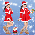 2016 New Christmas Chidran Clothing Performance Clothing  Boys Sets Girls Dress Costumes Christmas