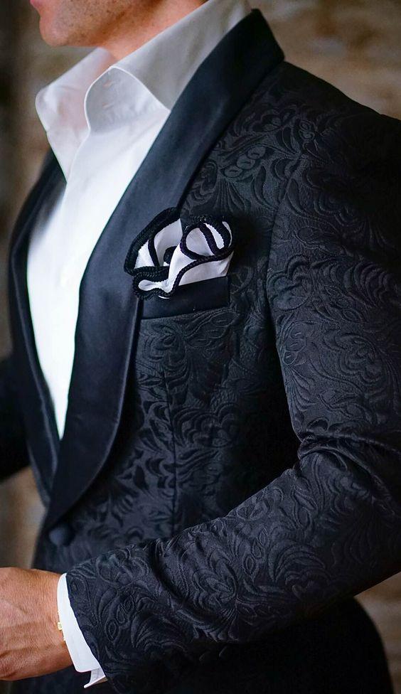 Vintage Blue Paisley Tuxedos Wool British Style Custom Made Mens Suit Slim Fit Blazer Wedding Suits For Men(Suit+Pant)