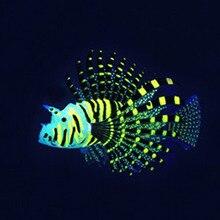 2016 New Acuarios Sale Decoracion Acuario Fish Tank Decoration Toys Luminous Simulation Aquarium Silica Color For Lionfish