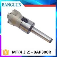 MT4 FMB22 M16 MT3 FMB22 M12 MT2 FMB22 M10 BAP300R 50 22 4T Combi Shell Mill