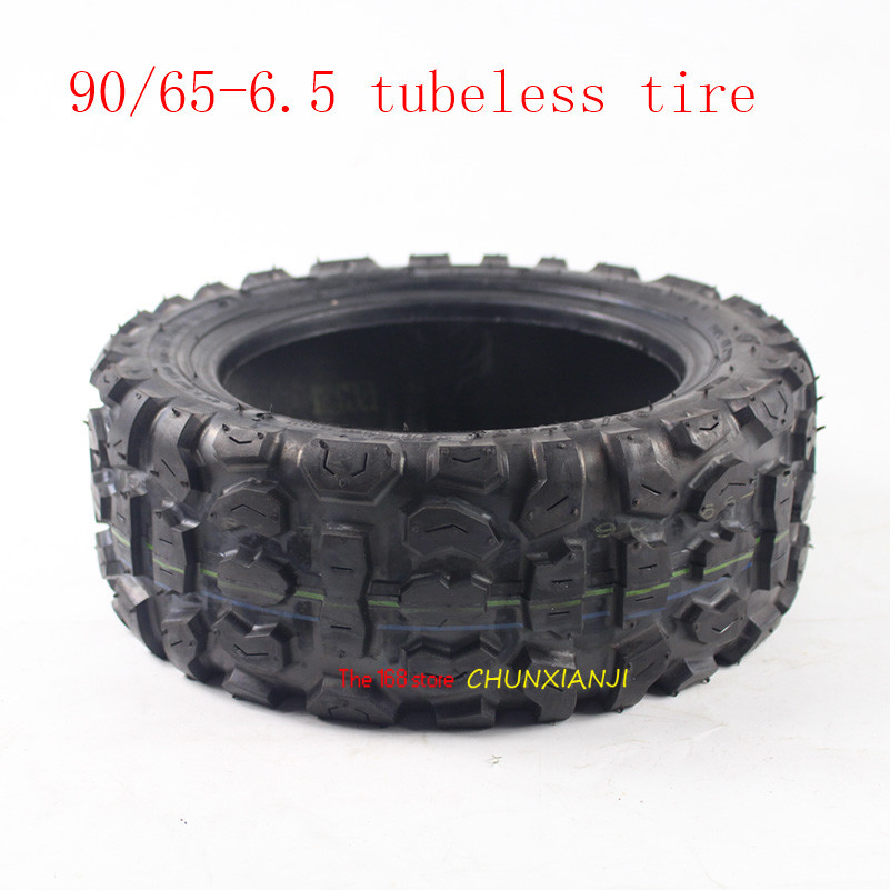 Pneu pneumatique super 11 pouces pour Scooter électrique pour bricolage pneu de fond 90/65-6.5 pneu sans chambre/vide