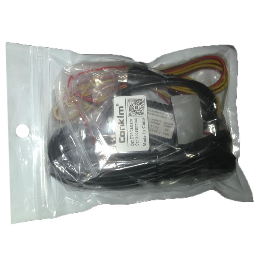 Conkim Micro USB Guardia de estacionamiento Juego de cables duros - Electrónica del Automóvil - foto 5