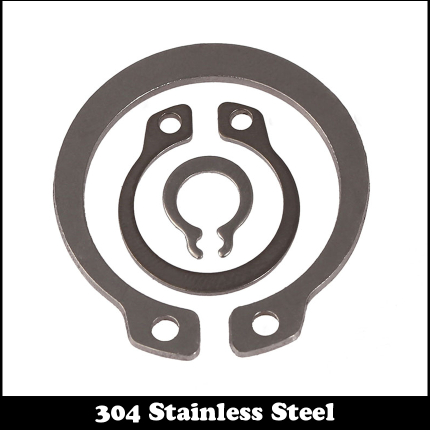 M35 M65 304 Roestvrij Staal 304ss Veerring Din471 C Type Snap Borgring Voor 35mm 65mm Buiten Externe As Borgring