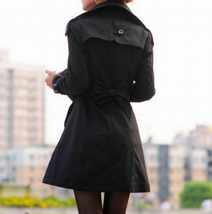 Manteau S Boutonnage noir 2019 kaki Printemps Revers Mode Chaude Beige À Loisirs 3xl Femmes Big Trench Nouvelle Ciel Yards Double pu nr7qTwvnx