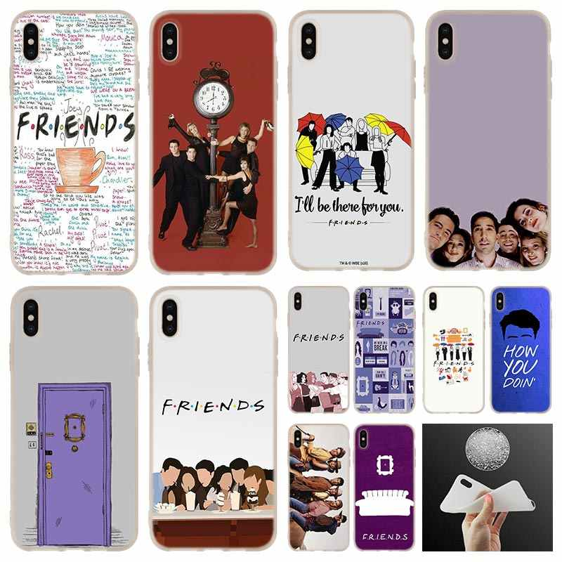 TV show series Best Friends soft silicone Phone Case cover For iPhone 11 Pro 7 8 Plus XR XS Max 4 5 5S SE 6 6s Funda Etui Cases