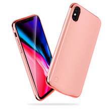 New 5500mah For iphone X Charger Case Backup Charger Cover Smart Power Bank For iphone X Battery Case