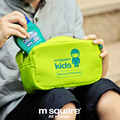 M Square Kids Travel Cosmetic Bag Organizer For Cosmetics Children Wash Makeup Bag Boy Girls Necessaries Cosmetic Bags Storage