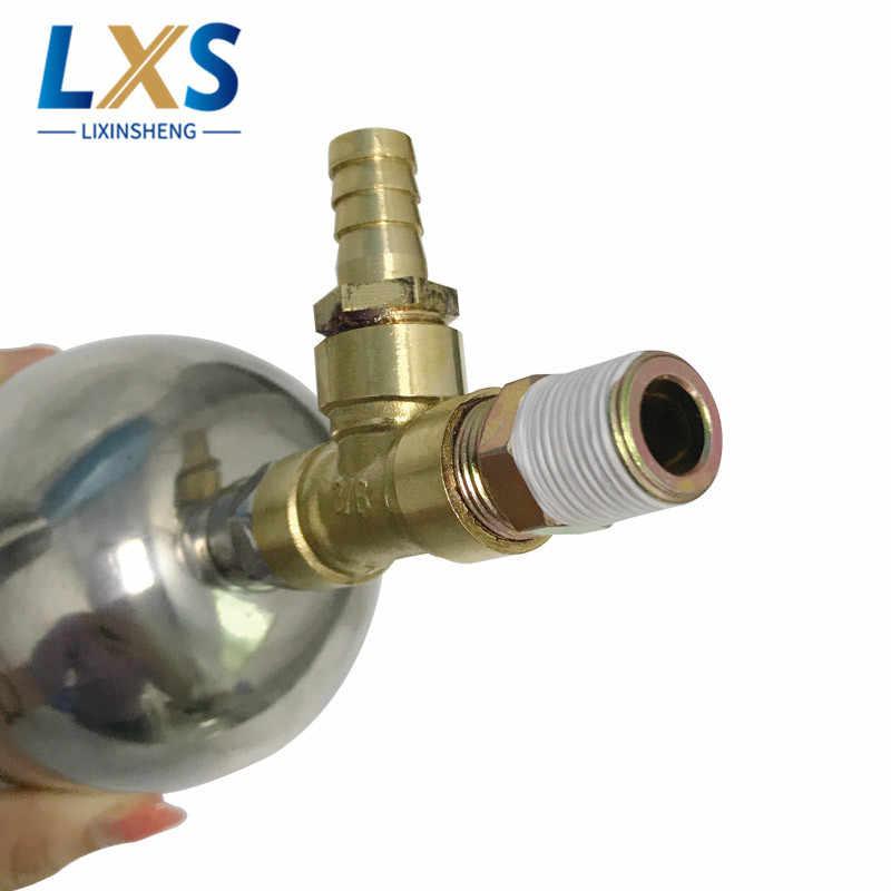 """1/4 """"Воздушный однополосный мембранный насос BML-5C с буферным баком 500cc для циркуляции чернил и клея"""