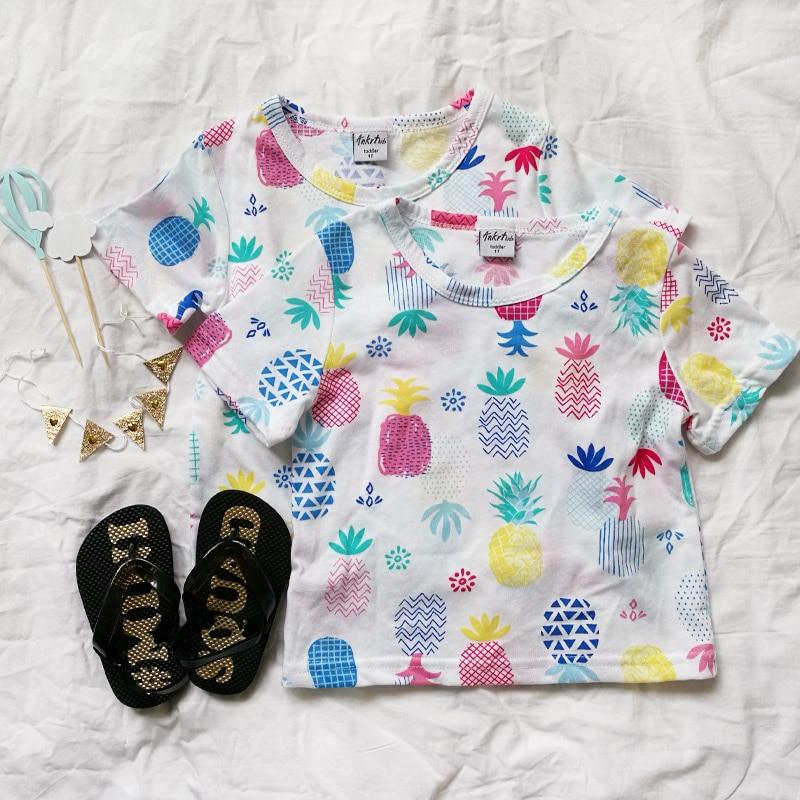 18 nowych dziecięcych bawełnianych T-shirtów z krótkim rękawem, - Ubrania dziecięce - Zdjęcie 3