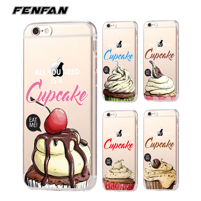 coque iphone 8 plus cupcake