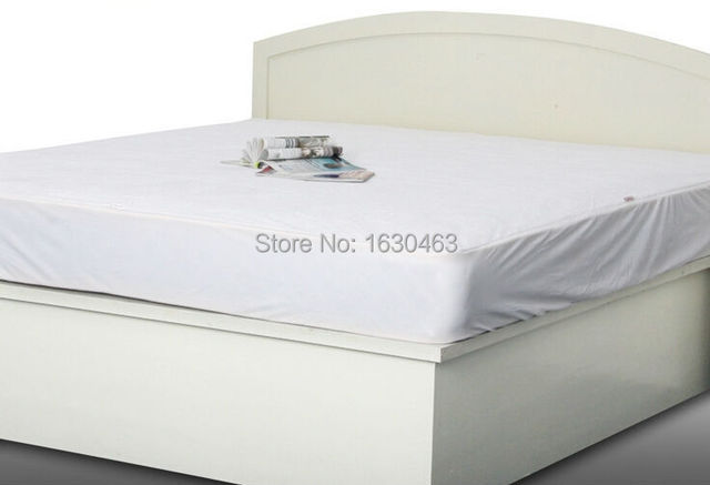 Size 100x190cm Luxury Tencel Waterproof Mattress Protector Cover For Bed Wetting And Bug Russian