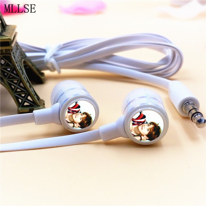 MLLSE EXO BAEK HYUN In-ear Earphones 3.5mm Wired Stereo Earbuds Phone Music Game Headsets for Iphone Samsung MP3 PS4 Player PC 100pcs m1 4 m1 7 m2 m3 pa nickel plated phillips head micro screws pan head self tapping electronic small screws axk 02