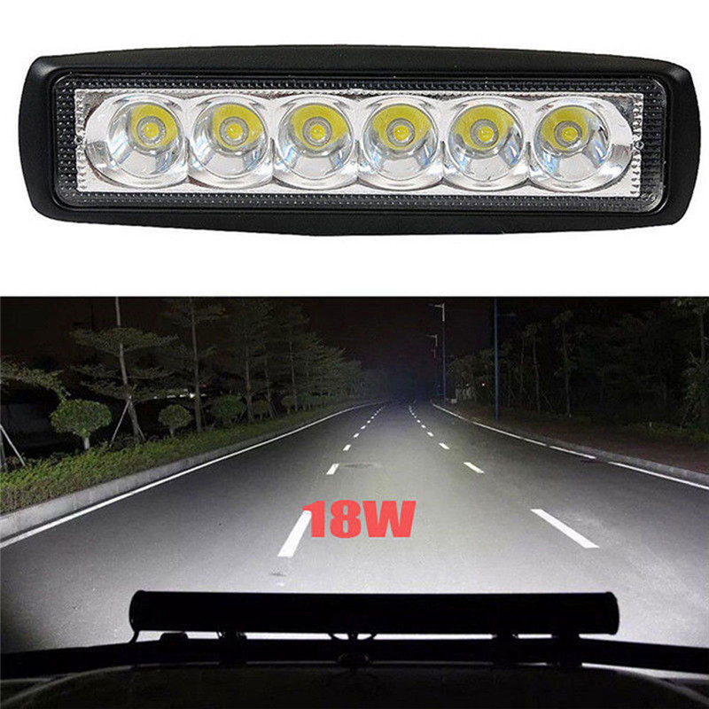 Boat-Lamp Bright-Light Offroad Driving Work-Bar Car 800LM Universal High-Power Fog SUV title=