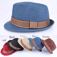 Boys Girls Children Fedoras Fashion Solid Sun Hats and Caps Child Caps British J