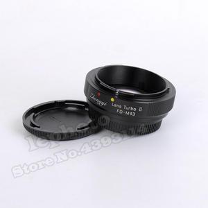 Image 2 - Zhongyi Lens Turbo II Odak Düşürücü Hız Yükseltici Adaptör için Canon FD Dağı Lens Mikro Four Thirds MFT Kamera m4/3 MFT GH4