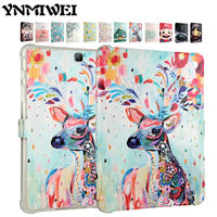 Tab A 9 7 T550 SM T550 Flip PU Leather Case Cover 3D Print Protective Stand