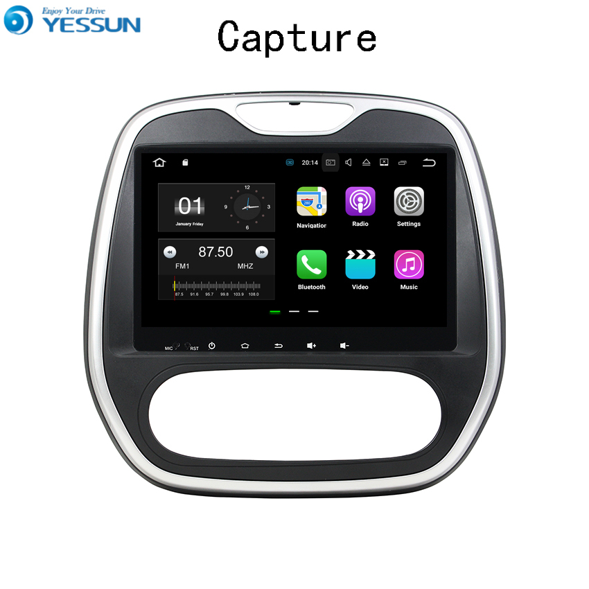 YESSUN Android Car Navigation GPS For Renault Capture 2007~2016 Audio Video Radio HD Touch Screen Multimedia Player No CD DVD. lisslee car android 6 0 gps navi navigation multimedia for dodge challenger radio hd screen audio video no cd dvd player system