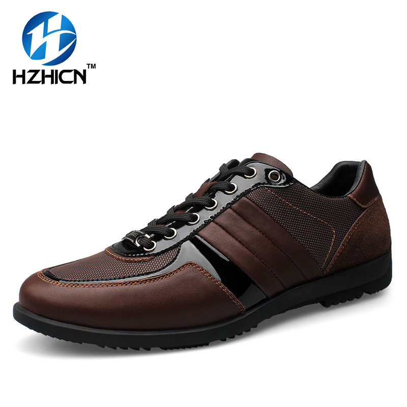 HZHICN Brand Fashion Summer Style Soft Moccasins Men Loafers High Quality Genuine Leather Shoes Men Flats Gommino Driving Shoes new style comfortable casual shoes men genuine leather shoes non slip flats handmade oxfords soft loafers luxury brand moccasins