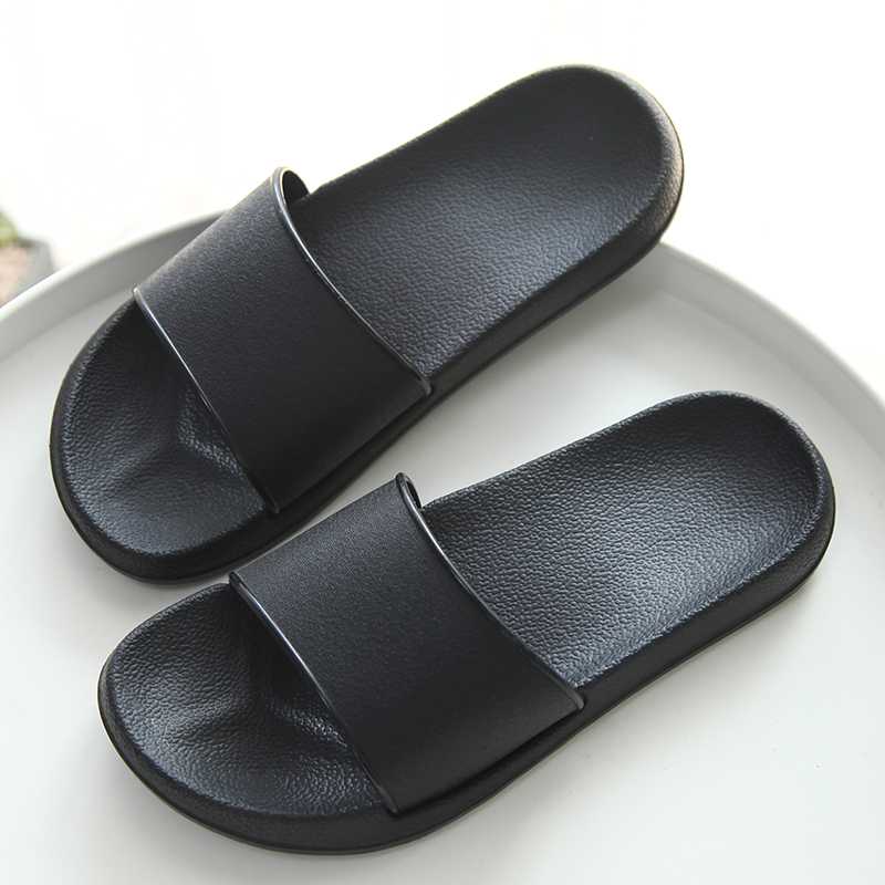 S-XL NEW Men/'s Casual Sandals Rubber Slides Black Navy Slipper Shoe Size 6-13