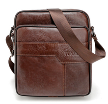 2016 New Arrived genuine leather men bag fashion men messenger bag cross-body bussiness shoulder bag free shipping tmyoy 2016 hot new arrived pu leather men messenger bags fashion men shoulder bag vintage bussiness classic design bags bn003 1