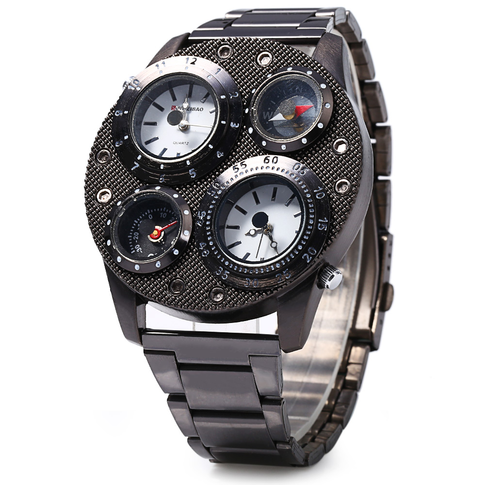 Special Retro Design Watch 4 Dials