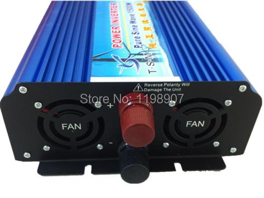 цена на CE ROHS pure sine wave inverter 1500W peak power 3000W DC 24V to AC 220V 50hz off grid power inverter