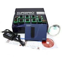 Xeltek Superpro 610P High Speed Universal USB IC Programmer with 13pcs Burn Blocks