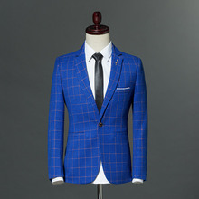 Fit Nuovo Plaid Giacca