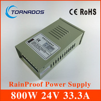 FY 800 24 monitor power LED Rainproof switching power supply transformer 110V or 220v power 800W 24V 33.3A