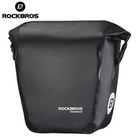 Rockbros Waterproof Bicycle Bags 18L Multifunctional Bike Rear Rack Saddle Bag Cycling Back Trunk Bag Mountain