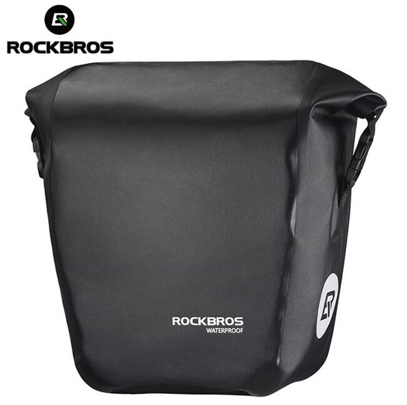 Rockbros Waterproof Bicycle Bags 18L multifunctional Bike Rear Rack saddle Bag Cycling Back Trunk Bag Mountain Bike Accessories roswheel 3l 10l bicycle saddle bag waterproof mountain road bike rear rack bags adjustable cycling mtb tail seat bag bicicleta