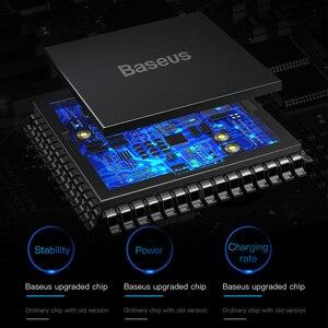 Image 4 - Baseus 10 واط تشى سيارة شاحن لاسلكي لسامسونج S10 شاومي 9 سريع لاسلكي سيارة شحن شاحن الهاتف المحمول