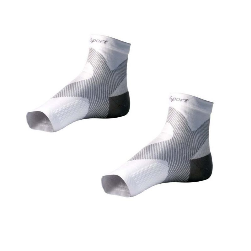 Unisex Sports Yoga Socks Massage Fitness Socks Outdoor Feet Anti-Fatigue Compression Cyc ...